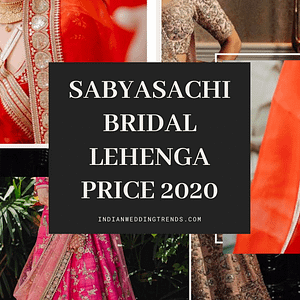 Sabyasachi Bridal Lehenga Price 2020 | How to Buy or Rent?