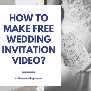 Free Wedding Invitation Video online | Tips and Tricks